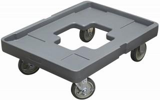 Подставка для термоконтейнера GN 760x530x130 мм на колесах [JW-FOC]