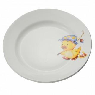 Тарелка мелкая 200 мм Утенок/Медвежонок