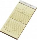 Счет официанта 50 листов 205х95 мм двойной [СОФ-6]