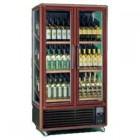 Шкаф винный вент.Метал. Enotec 680 1tv серебр.